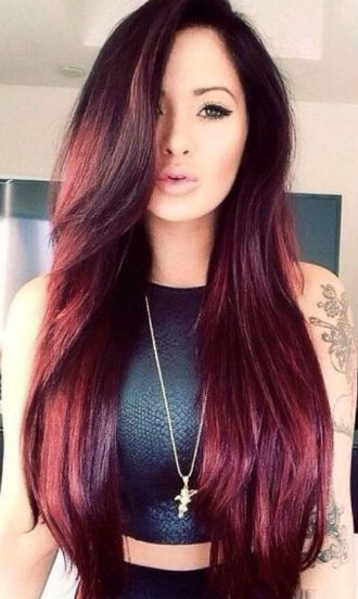 Red Hairstyles - Hair color, Hair color ideas, Red hair color