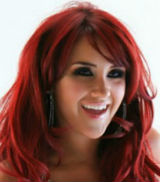 Shoulder Length Wavy Red Hair