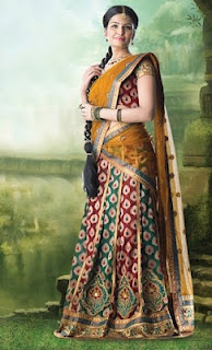 Traditional Half Saree