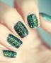 Emerald Green Nails