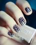 Beautiful Dotted Nail Art