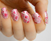 Valentine's Day 'Wrapping Paper' Nail Art