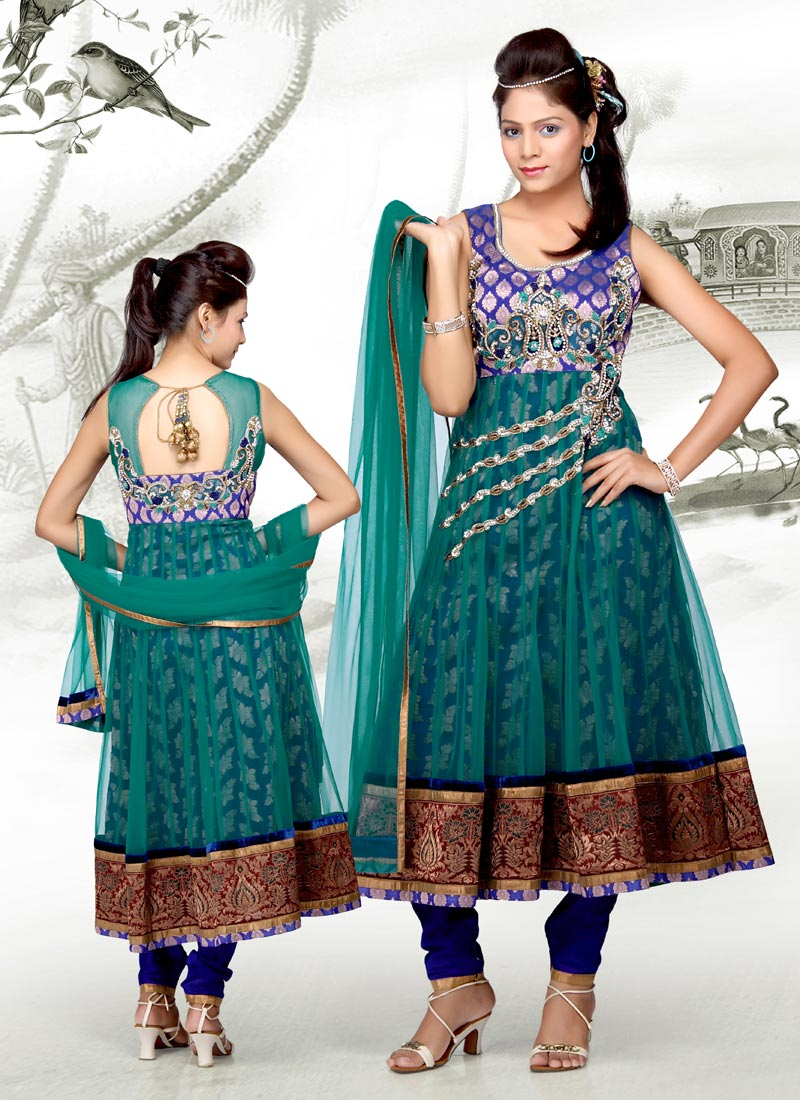 Party Wear Anarkali Chudidhar